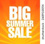 summer sale poster | Shutterstock .eps vector #268910054
