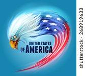 Usa Eagle Flag