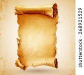 parchment | Shutterstock .eps vector #268921529