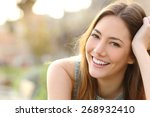 Woman Smiling With Perfect...
