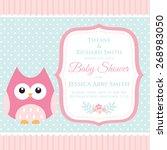 cute invitation | Shutterstock .eps vector #268983050