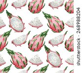 vector seamless pattern with... | Shutterstock .eps vector #268988204