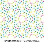 dot pattern | Shutterstock .eps vector #269004068