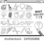 cartoon illustration of finding ... | Shutterstock . vector #269030888