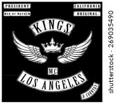 kings motor club tshirt graphics | Shutterstock .eps vector #269035490