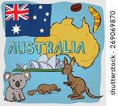 Australia Design Set. Hand...