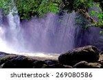 beautiful waterfall   Shutterstock . vector #269080586