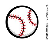 baseball vector icon | Shutterstock .eps vector #269089676