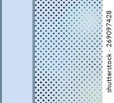 vector background with polka dot | Shutterstock .eps vector #269097428