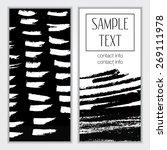 template. creative trendy... | Shutterstock .eps vector #269111978