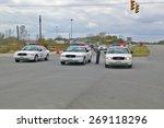 local law enforcement prepares... | Shutterstock . vector #269118296