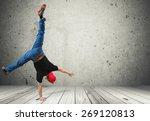 breakdancing  hip hop ... | Shutterstock . vector #269120813