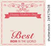 poster  banner or flyer design... | Shutterstock .eps vector #269175638