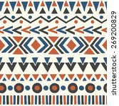 ethnic seamless pattern. aztec...   Shutterstock .eps vector #269200829
