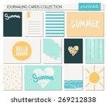 a set of 12 templates for... | Shutterstock .eps vector #269212838