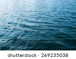 Surface Of The Water With...