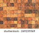 earthenware thai style texture   Shutterstock . vector #269235569