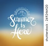 digitally generated summer is... | Shutterstock .eps vector #269246420