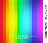 abstract colorful rainbow... | Shutterstock .eps vector #269247629