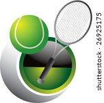 tennis swoosh | Shutterstock .eps vector #26925175