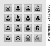 login icons | Shutterstock .eps vector #269276510