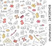 money background   seamless... | Shutterstock .eps vector #269285408