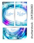 blurred background with... | Shutterstock .eps vector #269286083