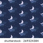 seamless background with the... | Shutterstock .eps vector #269324384