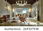 Lobby Spa Oriental Style  3d...
