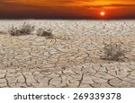 red heat or horrors of global... | Shutterstock . vector #269339378
