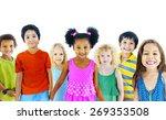 children kids happiness...   Shutterstock . vector #269353508