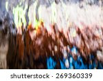 abstract water background with... | Shutterstock . vector #269360339
