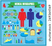 medical infographics   Shutterstock . vector #269364569