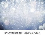 abstract silver  lights on... | Shutterstock . vector #269367314