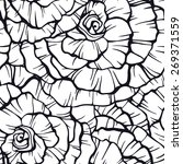 seamless pattern with... | Shutterstock . vector #269371559