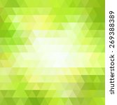 triangle colorful abstract... | Shutterstock . vector #269388389