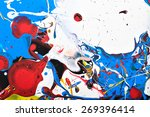 abstract acrylic modern... | Shutterstock . vector #269396414