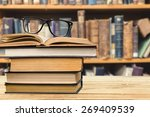analyze  bibliophile ... | Shutterstock . vector #269409539