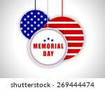 memorial day background | Shutterstock .eps vector #269444474