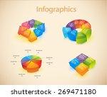vector info graphic graph.  | Shutterstock .eps vector #269471180