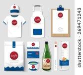 vector restaurant cafe set... | Shutterstock .eps vector #269471243