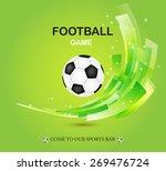 creative football vector design ...   Shutterstock .eps vector #269476724
