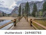 Little Swinging Wooden Bridge...