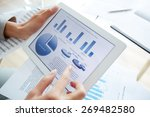 information upon business... | Shutterstock . vector #269482580