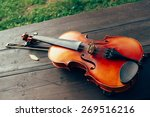 violin on the table | Shutterstock . vector #269516216