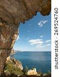 mediterranean coastline... | Shutterstock . vector #269524760
