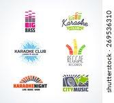 fifth set of dj music equalizer ... | Shutterstock .eps vector #269536310
