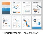 flat style infographic vector... | Shutterstock .eps vector #269540864