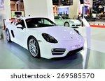 Постер, плакат: New Porsche Cayman Sport