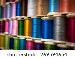 Colorful Sewing Thread Sewing...